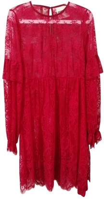 Aniye By Red Lace Dress for Women
