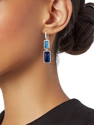 Ippolita Sterling Silver, Blue Quartz & Hematite Drop Earrings