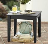 Pottery Barn Hampstead Painted Side Table - Black