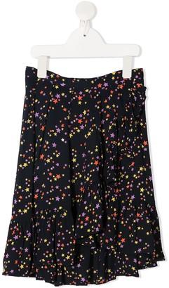 Molo Star-Print Cotton Skirt