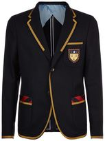 Gucci College Patch Blazer