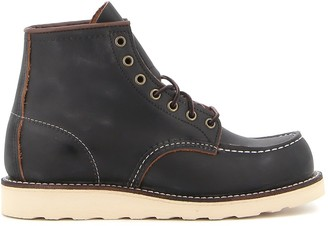 Red Wing Shoes Classic Moc Toe Army Boots