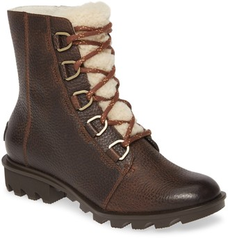 Sorel Phoenix Genuine Shearling Lined Waterproof Boot