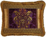 Dian Austin Couture Home Royal Court Standard Pieced Sham with Fringe