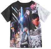 Disney Star Wars: The Last Jedi Cast Sublimated T-Shirt for Kids