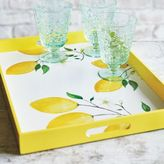 Sur La Table Lemon Lacquer Tray