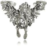 Roberto Cavalli Pegaso Old Silver Bracelet