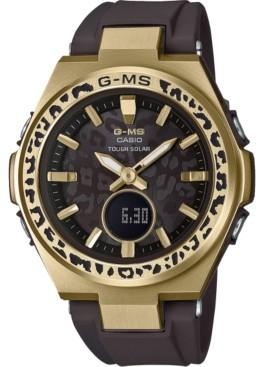G-Shock Baby-g Women's Solar Analog-Digital Wildlife Promising Black Resin Strap Watch 38.7mm
