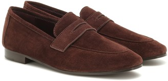 Bougeotte Flaneur suede loafers
