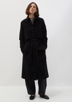 La Garçonne Moderne Moleskin Drafting Trench