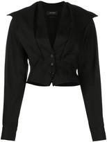 Isabel Marant v-neck cropped jacket