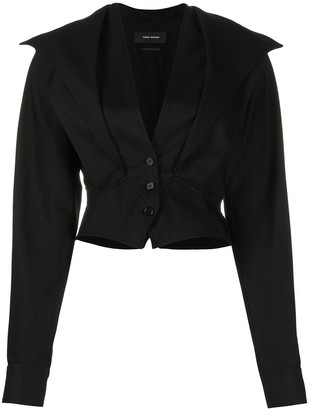 Isabel Marant V-Neck Cropped Jacket