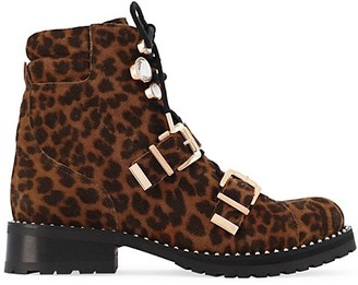 Sophia Webster Ziggy Leather Biker Boots