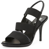 Balenciaga Triple-Band Stretch Sandal