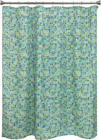 Bacova Guild Mosaic Tile Shower Curtain