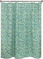 Bacova Guild Mosaic Tile Shower Curtain