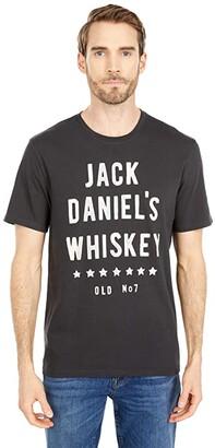 Lucky Brand Jack Daniel's Tee (Jet Black) Men's Clothing