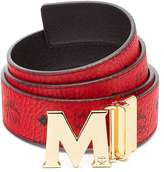 MCM CLAUS REVERSIBLE BELT Accessory, -, (PRODUCT)RED