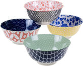 Certified International Mix And Match Chelsea Set of 4 Bowls