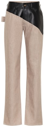 Bottega Veneta High-rise straight jeans