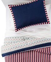 Pam Grace Creations Anchors Away Comforter Set (Twin) Red