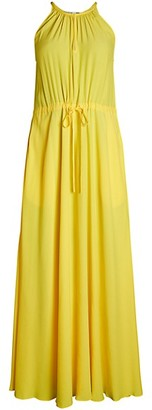Diane von Furstenberg Sally Halter Maxi Dress