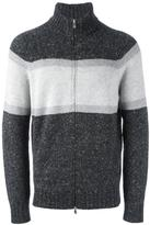 Brunello Cucinelli zip-up cardigan - men - Virgin Wool/Cashmere/Polyamide - 52