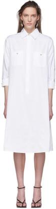 Max Mara White Vibo Shirt Dress