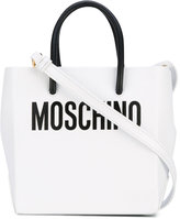 Moschino cross-body mini shopper bag - women - Leather - One Size