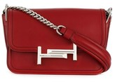 Tod's Women's Red Leather Shoulder Bag.