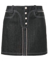 Paco Rabanne mini denim skirt