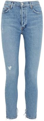 A Gold E Nico light blue skinny jeans
