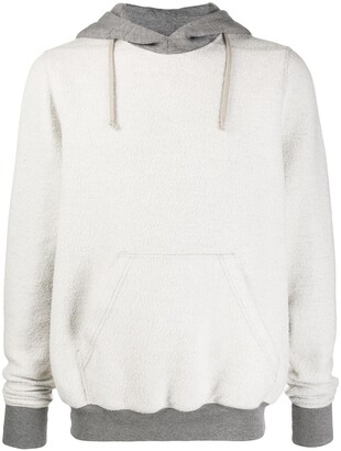 Rick Owens Inside-Out Effect Front Pocket Hoodie