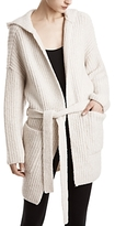 ATM Anthony Thomas Melillo Hooded Duster Sweater