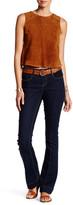 Seven7 Pintucked Seam Micro Flare Jean