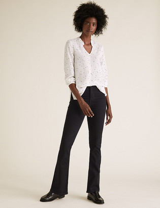 Marks and Spencer Eva Bootcut Jeans with Stretch