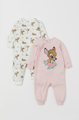 H&M 2-pack Jumpsuits - Pink