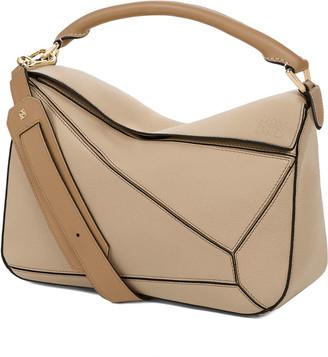 Loewe Puzzle Leather Satchel Bag