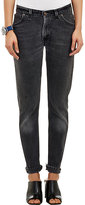 RE/DONE Women's The Straight Skinny Jeans-BLACK