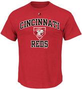 Majestic Men's Cincinnati Reds Hit and Run T-Shirt