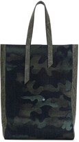 Mr & Mrs Italy camouflage-print tote