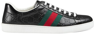 Gucci Men's Ace Signature sneaker