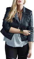 Tart Plus Justine Faux-Leather Jacket, Plus Size