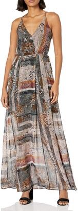 BCBGeneration Women's Shirried Maxi Dress