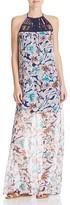 Ella Moss Tahiti Print Silk Maxi Dress
