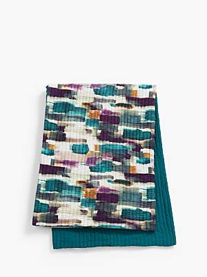 John Lewis & Partners Livia Quilted Bedspread, Multi