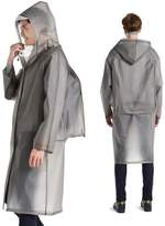 ucky Gourdightweight Rain Poncho Adut Raincoat with Backpack Cover