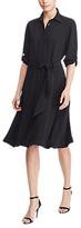 Lauren Ralph Lauren Fit And Flare Shirt Dress, Polo Black