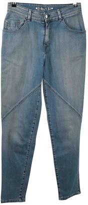 Barbara Bui Blue Cotton - elasthane Jeans for Women