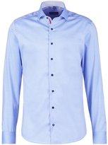 Eterna Slim Fit Formal Shirt Hellblau